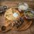 kip souvlaki met pita en tzaziki van de bbq