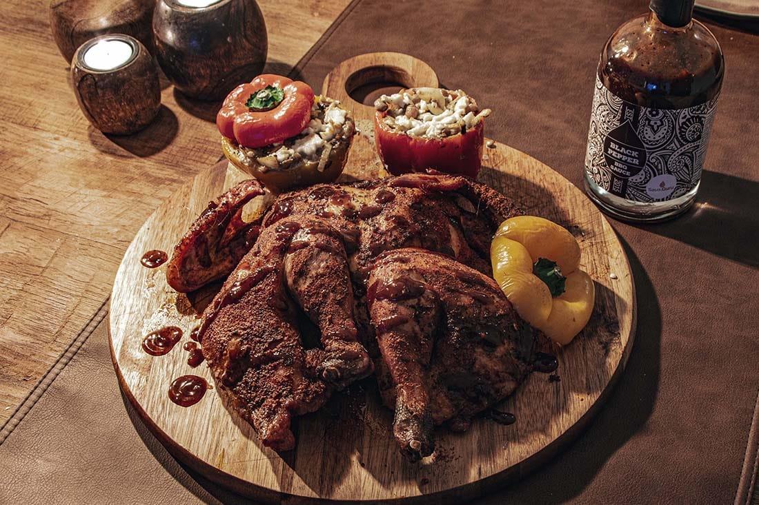 spatchcock chicken van de grill bill bbq 18