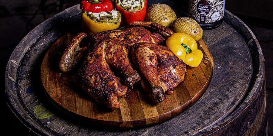 spatchcock chicken van de grill bill bbq 3.1