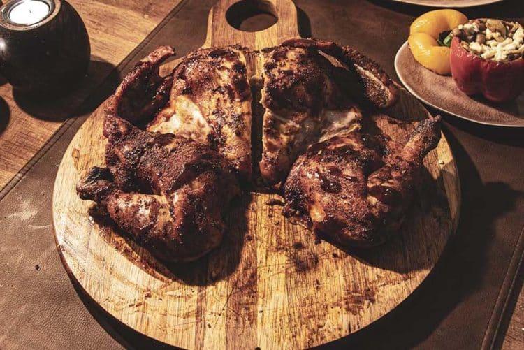 spatchcock chicken van de grill bill kamado bbq 13